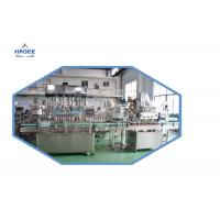 Quality Professional Oil Bottle Filling Machine , Edible Oil Packing Machine AC220V/50Hz for sale