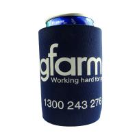 Buy cheap 4mm Black Stubby Neoprene Can Cooler With Base , One Color Printing from wholesalers