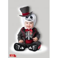 Quality Lil' Skeleton Infant Baby Costumes for Halloween Christmas Party Carnival Fancy Dress for sale