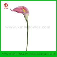 """Quality 27""""Artificial Natural Touch Foam Flower Large Calla Lily for sale"""