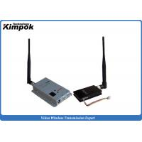 Buy cheap 8 Channels Long Range Wireless Video Sender 2.4Ghz Video Transmitter and Receiver 1500mW product