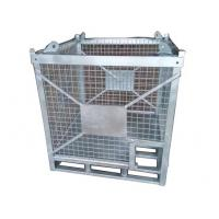 Quality Hot Galvanized Surface Steel Heavy Duty Cage / IBC Chemical Storage Cage for sale
