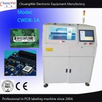 Quality Programming PCB Circut Board Label Maker Machine 0.01mm Control Motor Repeat Accuracy for sale