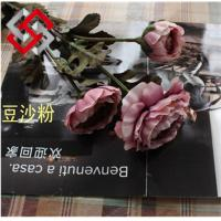 Quality Artificial Floral Tea Rose Silk Flower for Home Office Decor and Bonsai for sale