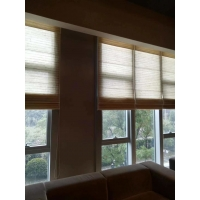 Quality 0.9x0.45m Kenaf Woven Jute Roll Up Blinds For Windows for sale