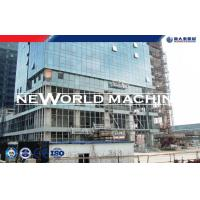 Quality Building Construction 500 - 1000Kg Gear Personnel hoist Electric Motor facade cleaning equ for sale