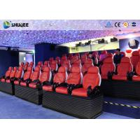 Buy cheap 6D Movie Theater 24 Seater Dynamic System Mini Cinema Equipment product