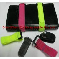 Quality Different size removable Velcro hook and loop closure cable ties for sale