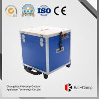 Quality 3 KW * 2 Outdoor Cooking Station Of EATCAMP Foldable Table Double With Gas Cylinder Stoves For BBQ Party for sale