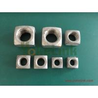 Quality 1 3/8'' big size HDG Square nut for sale