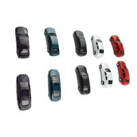 China 1:100  ABS plastic painted model car for architectural miniature kits or toy on sale