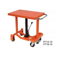 Quality Customized Center Post Lift Table , Long Deck Post Industrial Lift Tables for sale