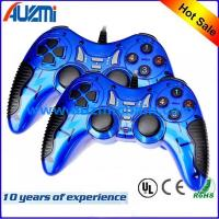 Quality Double dual shock game controller for pc with painting oil gaming pc controller for sale