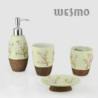 Quality 4 Pcs Polyresin Bathroom Set for sale