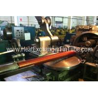 Buy cheap Helicoidal Groove Cooling Embedded Fin Tube Machine , G Type Alu & Copper product