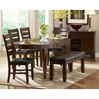 Quality TF-9128 wicker rattan 6 chairs and table for sale