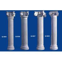 China GRC Roman Columns Wedding decoration pillars with different design for exterior decoration on sale