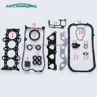 Quality D17A8 METAL full set for HONDA CIVIC VII Coupe 1.7 engine gasket 06110-PLC-010 50204500 for sale
