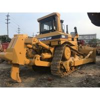 Quality Single Ripper Used Caterpillar Dozers D8n 306hp Rated Power In Yellow Color for sale
