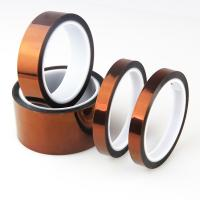 Quality Insulation Silicon Anti Static Kapton Polyimide Tape for PCB protection for sale