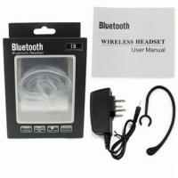 Quality Stereo Bluetooth Headset with Multipoint function V3.0 EDR CR-ES02 for sale