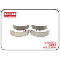 Quality ISUZU TFS TFR DMAX 4X2 Rear Brake Shoe Kit 8-98346023-0 8983460230 for sale