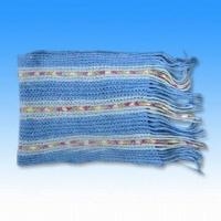 Quality Knitted Scarf Made of 55% Nylon, 45% Acrylic with 140g Weight for sale