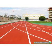 Quality SSGsportsurface Full PU Mixed Recycled Rubber Running Track Playground Flooring for sale