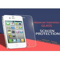 Quality Tempered Privacy Anti Spy iPhone 4 4S Screen Protector Nanotechnology White for sale