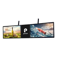 China 55 Inch Hang on The Wall LCD Screen for Advertising with 1 LED Backlit Light LOGO Board Custom-Made Android 8.0 1GB 8GB on sale