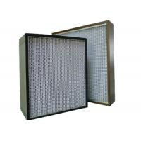 Quality Commercial UV Large Hepa Air Filters For HVAC System , High Efficiency for sale