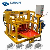 China Cheap price hollow block making machine,Mobile block machine price on sale