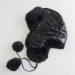 Quality Wholesale new design original winter warm bling winter hat custom for sale