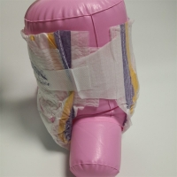 Buy cheap Printed Cotton Elastic Waist Nonwoven Soft Baby Diapers Disposable from wholesalers