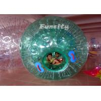 Exciting Colorful Rolling Dia 2.6M TPU / PVC Inflatable Zorb Ball for Land and Water with Unique Design