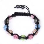 Quality Hot Selling Colorful Crystal Beaded Bracelets CJ-B-163 for Men, Unisex, Women for sale