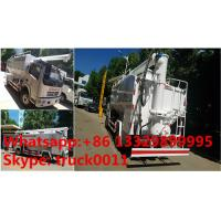 Buy cheap 2017s new 11m3 hydraulic discharging poultry feed truck for Asian market, HOT SALE! hydraulic farm-oriented feed vehicle product