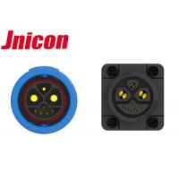 China Quick Disconnect M23 Outdoor Waterproof Connectors , 30A Power Signal Connector on sale