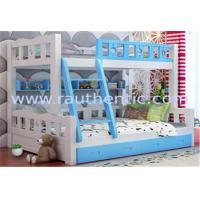 Quality Modern Style Full Size Furniture Bunk Beds For Young Children With Storage for sale
