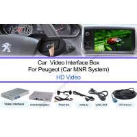 Quality Peugeot Google Navigation System HD 1080P Touchscreen Control for sale