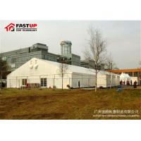 Buy A Shape Waterproof Wedding Tents , Big Event Outdoor Tents For Parties at wholesale prices