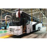 Quality LHD/RHD 65 seats Euro2 360HP 6x2 Coach Bus with Cummins Engine YBL6137T for Peru for sale