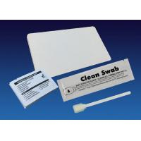 Quality Dust Free Large Adhesive Cleaning Card Kit , Meditech Card Swipe Cleaner for sale