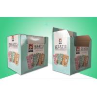 Buy cheap Biodegradable / Recycable Corrugated Cardboard Display Box For Pre - Filling Tincans from wholesalers
