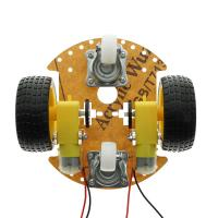Quality UNO R3 2WD Smart Robot Car Chassis Kit ABS Universal Wheel For STEM Education for sale