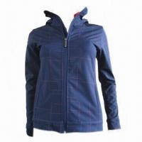 Quality Softshell Jacket with Composite Fleece Fabric for sale