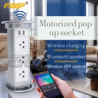 China Intelligent 250V 13A Pop Up Electrical Outlet Self Grounding on sale