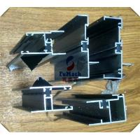 Quality Alloy 6063 Extrusion Anodized Aluminum Profiles For Flat Open Windows for sale