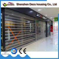 Quality Modern commercial security pvc transparent roller shutters for sale