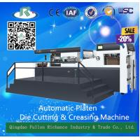 Quality Automatic Flatbed Die Cutting Creasing Machine (fully stripping) for sale